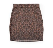 Grain de café coffee grains art Pencil Skirt Mini Skirt