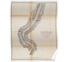 Civil War Maps 1168 Mississippi River 02 Poster