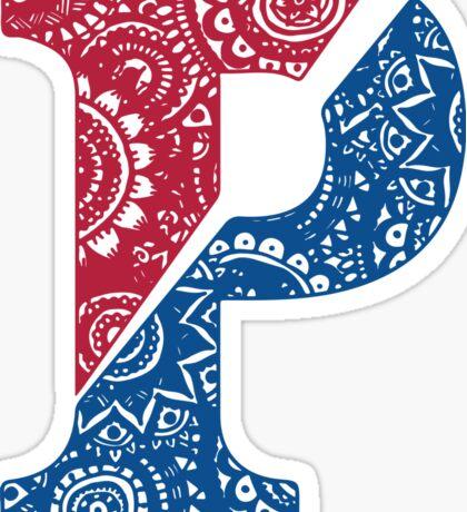 Penn Doodle Sticker