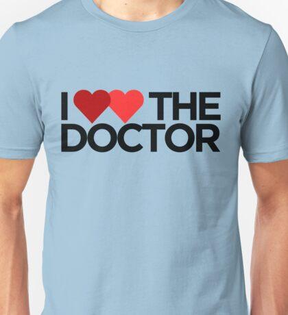 I <3 <3 The Doctor Unisex T-Shirt