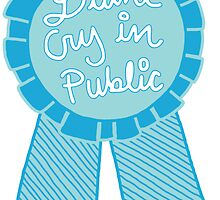 Didn't cry in public depression tumblr award adulting ribbon by Big Kidult