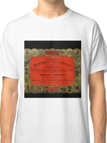 Vintage Mustard Plasters Tin Classic T-Shirt