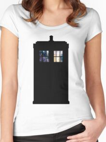 Anywhere in Time and Space Women's Fitted Scoop T-Shirt