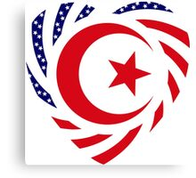 Muslim American Multinational Patriot Flag Series 2.0 Canvas Print