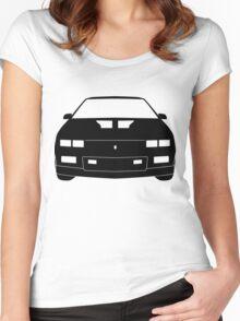 Third Gen Chevy Camaro - BLACK Women's Fitted Scoop T-Shirt