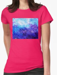 Abstract Ocean  Fantasy V Womens Fitted T-Shirt