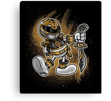 Vintage White Ranger Canvas Print