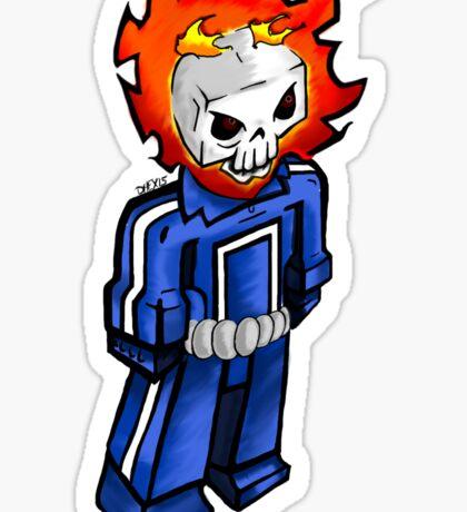 Ghost Rider 037 update Sticker