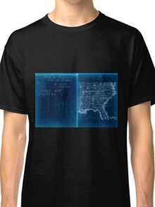 Civil War Maps 2136 Map of Virginia and North Carolina from the coast to the Blue Ridge 02 Inverted Classic T-Shirt