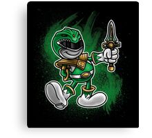 Vintage Green Ranger Canvas Print