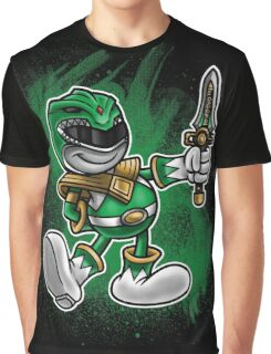 Vintage Green Ranger Graphic T-Shirt