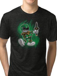 Vintage Green Ranger Tri-blend T-Shirt