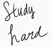 Study Hard One Piece - Long Sleeve