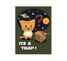 Its a Cat Trap! Art Print