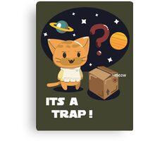 Its a Cat Trap! Canvas Print