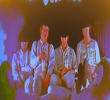 Droogs at The Korova by crazywaffleman