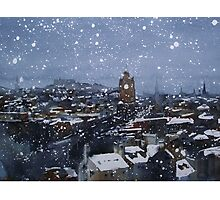 Snow On Edinburgh 9 Photographic Print