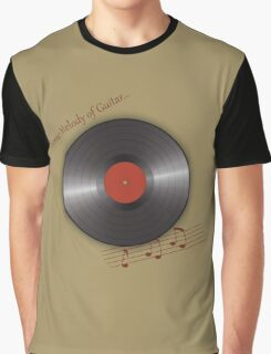 music plate Graphic T-Shirt
