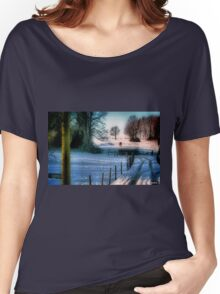 The Snow Fields Women's Relaxed Fit T-Shirt