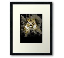 king of the cats Framed Print