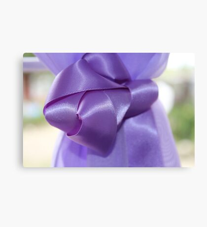 Ribbon Canvas Print