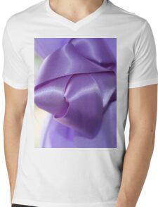 Ribbon Mens V-Neck T-Shirt