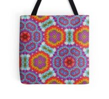 Psychedelic Crochet! Tote Bag