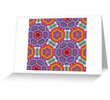 Psychedelic Crochet! Greeting Card