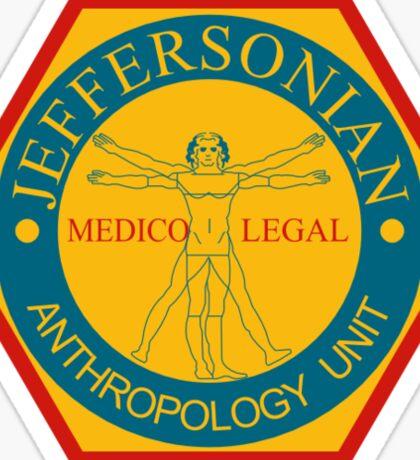 THE JEFFERSONIAN INSTITUTE  Sticker