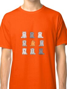 Nine cute kittens Classic T-Shirt