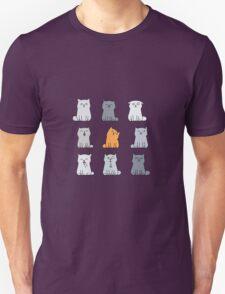 Nine cute kittens Unisex T-Shirt