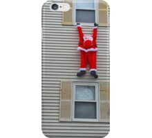 Santa Hanging Around For Christmas iPhone Case/Skin
