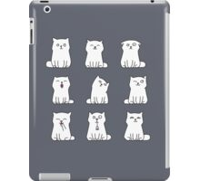 Nine cute white kittens iPad Case/Skin