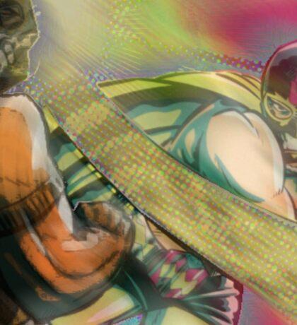 Lucha beatdown Sticker