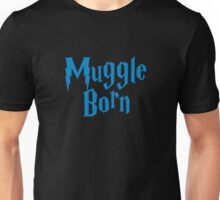 Muggle Born blue Unisex T-Shirt