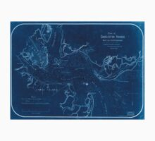 Civil War Maps 1314 Plan of Charleston Harbor and its fortifications Inverted One Piece - Short Sleeve