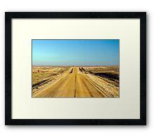 The Infinite Prairie Framed Print