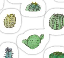 Comical Cacti Sticker