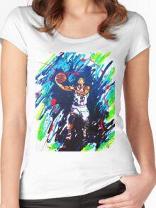 Derricks Rose Chicago Bulls Women's Fitted Scoop T-Shirt