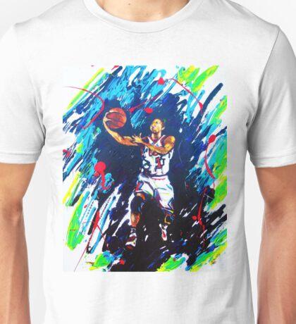Derricks Rose Chicago Bulls Unisex T-Shirt