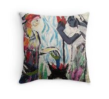 Fire and water. Throw Pillow