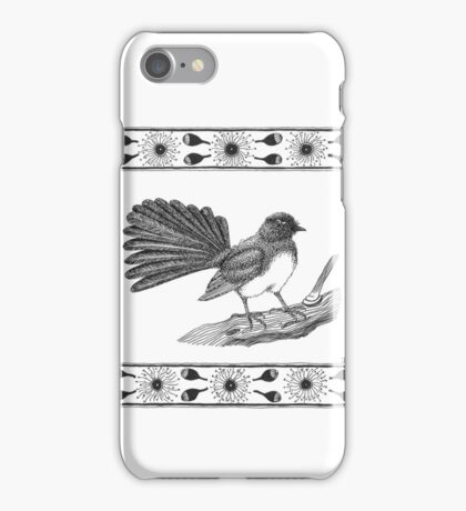 Australian Willy Wagtail iPhone Case/Skin