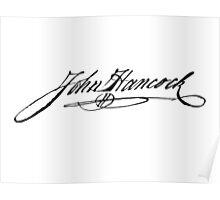 John Hancock Signature Poster
