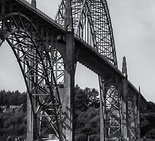 Yaquina Bay Bridge by yellocoyote
