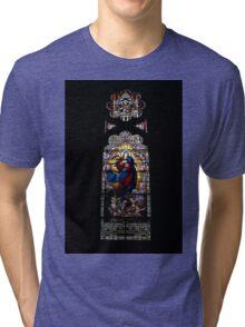Stain Glass Art Tri-blend T-Shirt