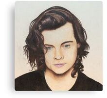 Harry Styles colored pencil Canvas Print