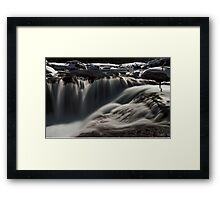 under moonlight Framed Print