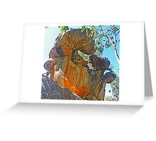 Sculpture by Nature Greeting Card