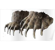 Bear Claws Poster