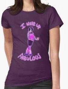 Mettaton Wakes Up FABULOUS Womens Fitted T-Shirt